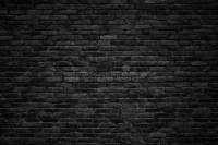 Black Brick Wall, Dark Background For Design Stock Image ...