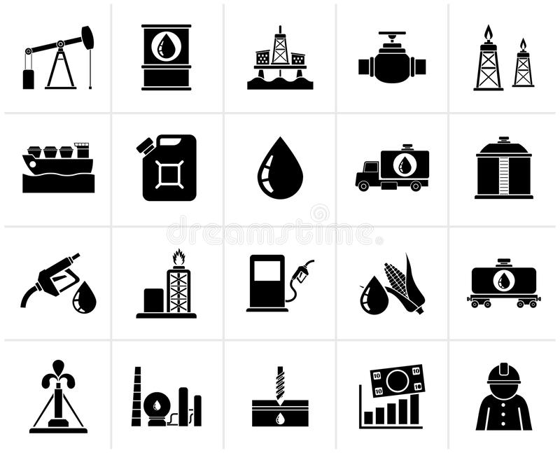 Black Oil Industry, Gas Production, Transportation And