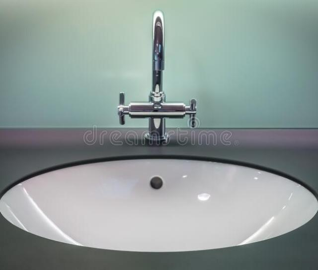 Black And White Vanity Top With Stainless Steel Faucet Free Public Domain Cc Image