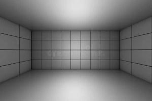 blank interior dark