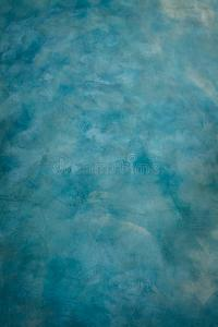 Blue Cement Wall Painting By Brush Texture Technical Use ...