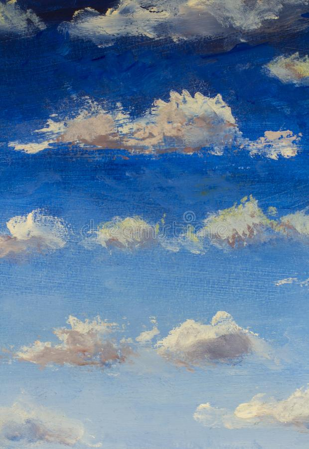 Sky Oil Painting : painting, 5,556, Painting, Photos, Royalty-Free, Stock, Dreamstime
