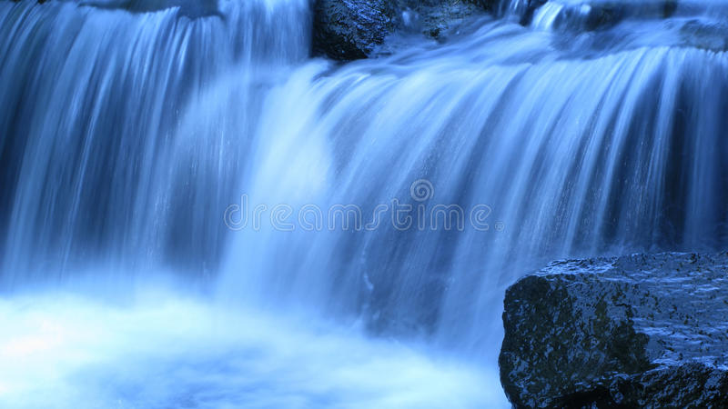Free Fall Waterfall Desktop Wallpaper Blue Waterfall Stock Image Image Of Wide Nature