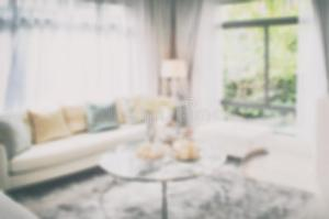 interior blurred living furniture