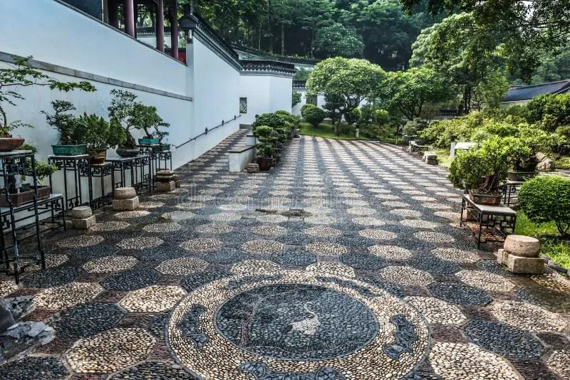 Bonsai Garden Kowloon Walled City Park Hong Kong Stock Image - Image of kong. traditional: 45563787