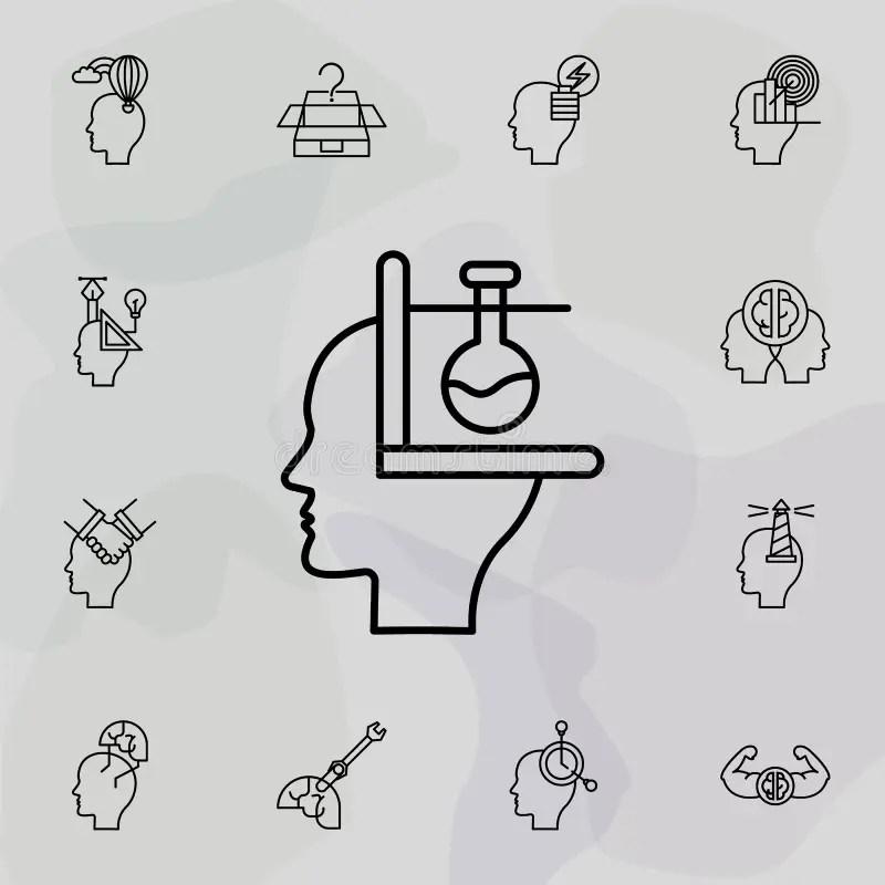 Mathematics Brain Stock Illustrations