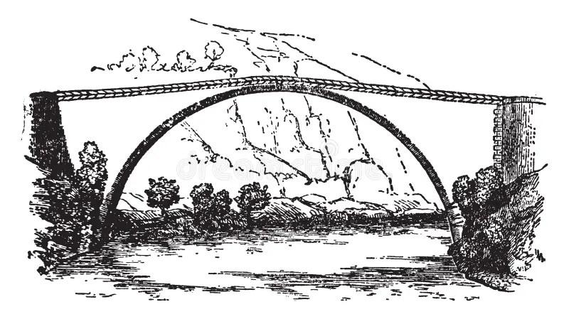 Bridge Line Drawing Stock Illustrations