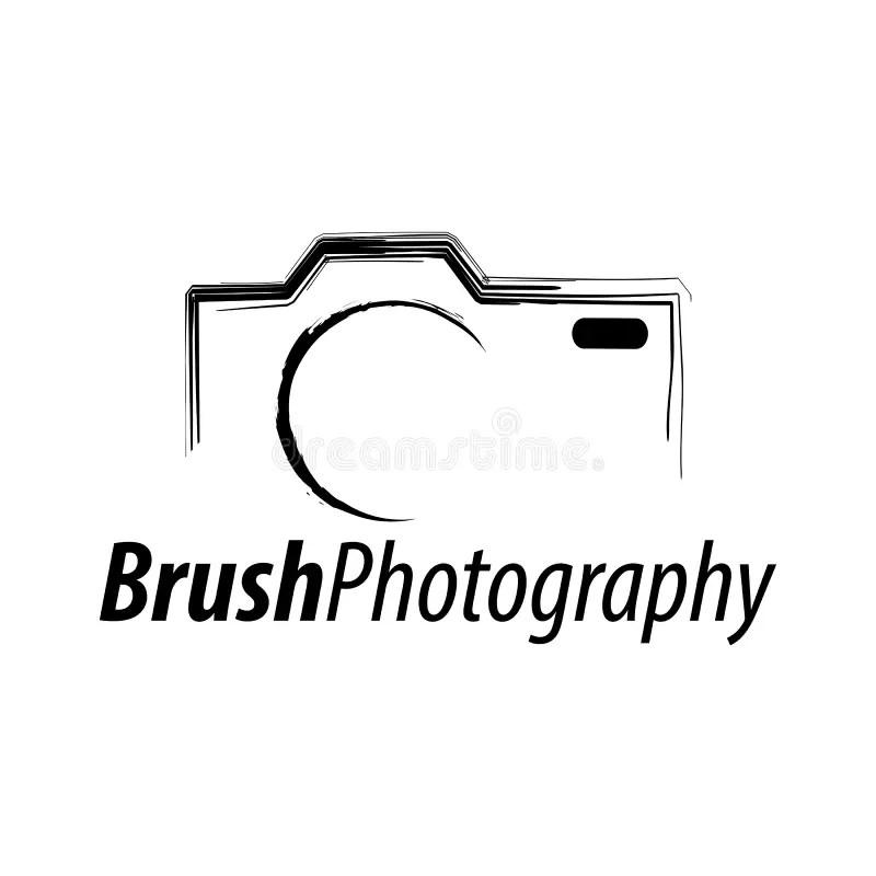 Photography Logo, Camera Concept Design Stock Vector