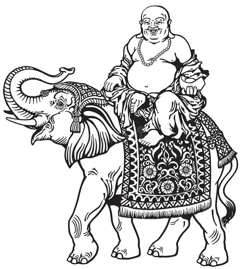 Buddhist Monk Stock Illustration