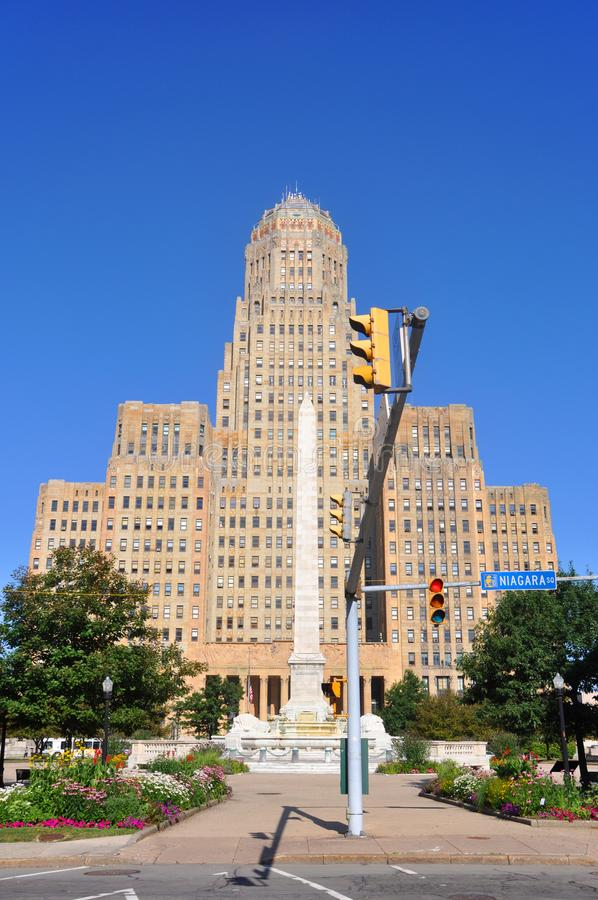 Buffalo City Hall. New York. USA Stock Photo - Image of arts. building: 101366778