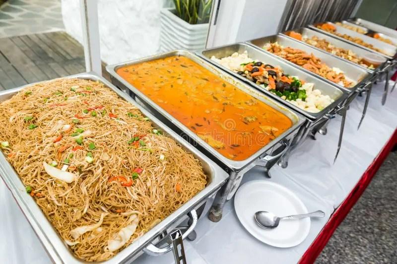 Buffet Chinois De Cuisine Asiatique Photo stock  Image du flicitation rgime 69920458