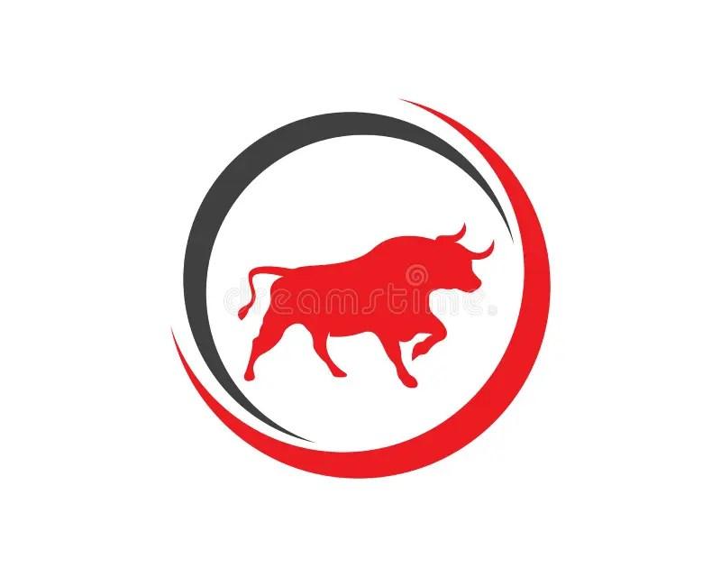 bull logos stock illustrations