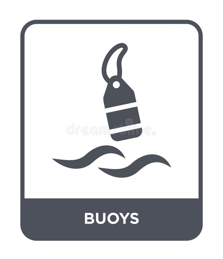 Buoys Icon. Trendy Modern Flat Linear Vector Buoys Icon On