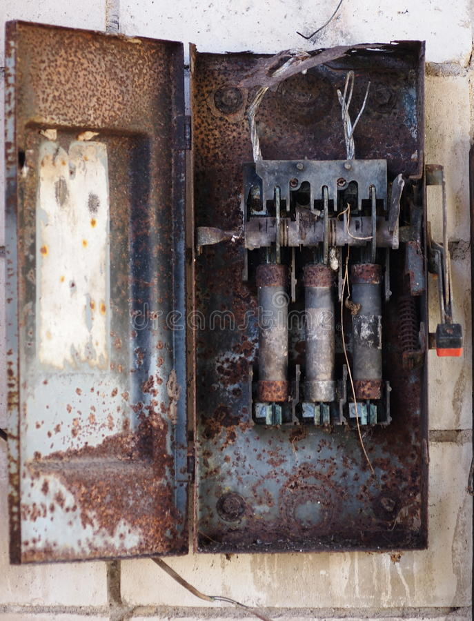 Old Style Fuse Box