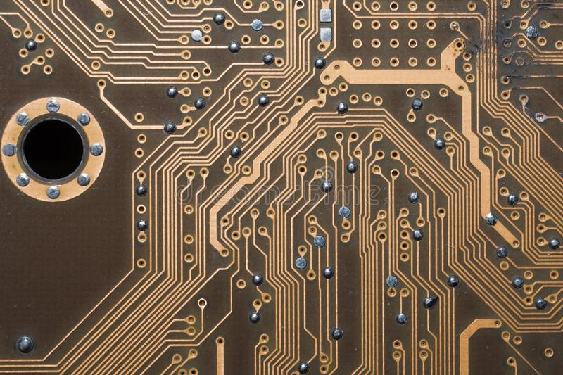 Burnt Circuit Board Royalty Free Stock Photography Image 20332777