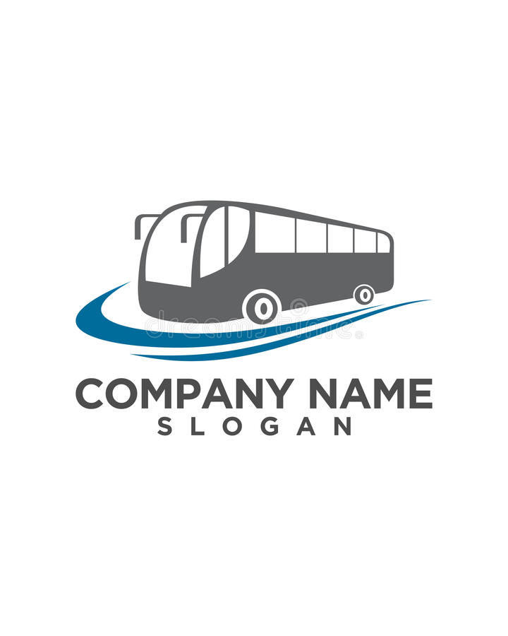 Bus Transport Company Logo