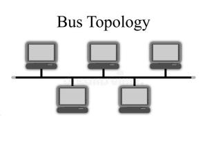 Bus Topology Diagram stock illustration Illustration of