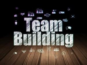 team grunge concept building dark