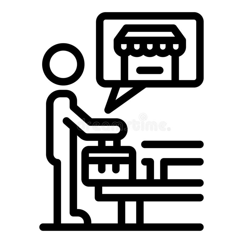 Idea Business Icons Set, Flat Style Stock Vector