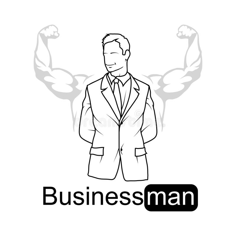 Boss Character, Chief, Boss Icon For Logotype, Flyer
