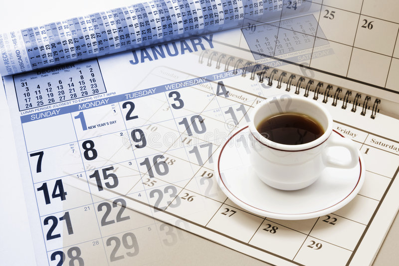 CCup Coffee Business News Stock Image. Image Of Exceeds