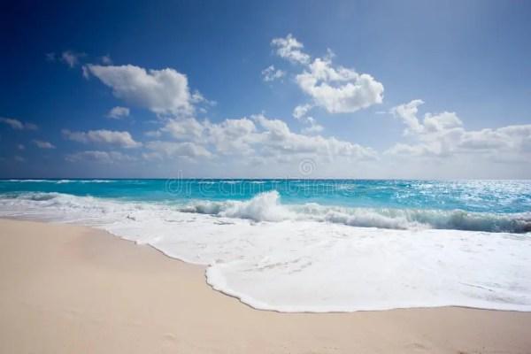 Cancun Beach stock photo Image of water caribbean