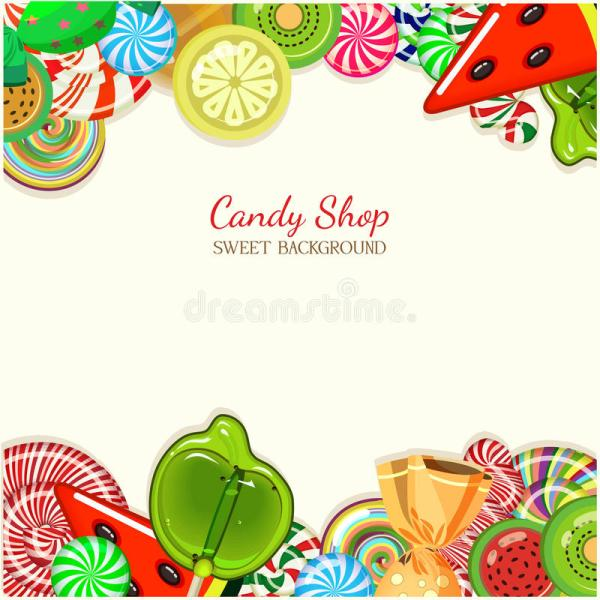 Candy . Vector Illustration. Stock