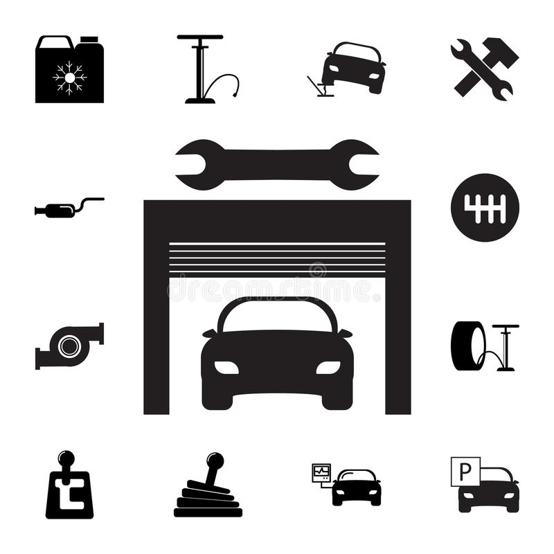 Repair, Service And Maintenance Icons For Mobile Or Smart