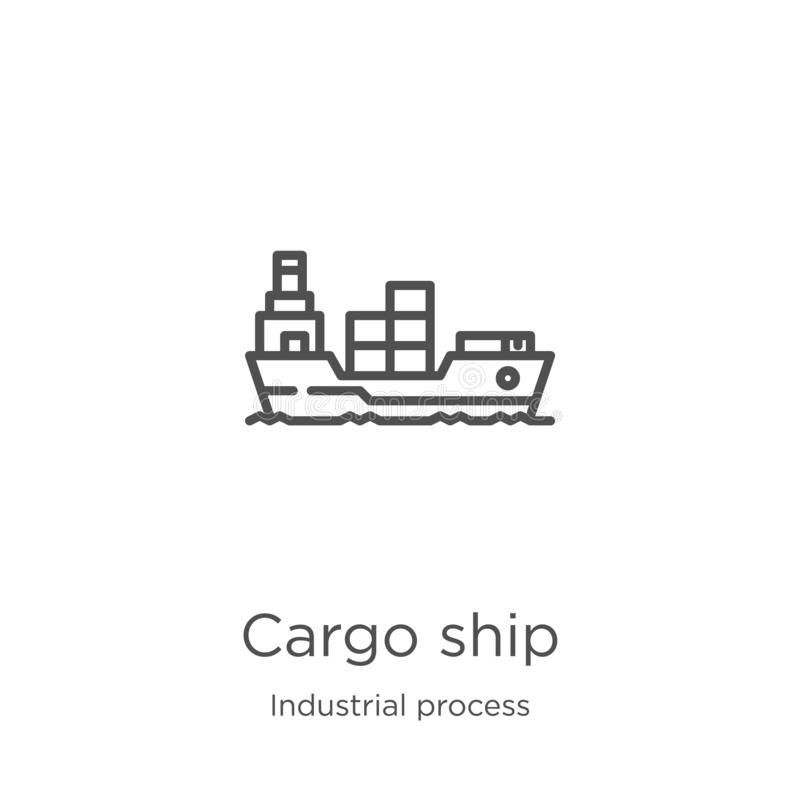 Logistics Process Icons For Supply Chain Diagram I Stock