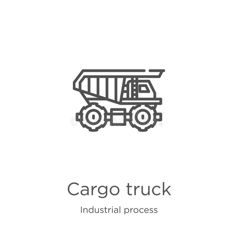 Logistics Process Icons For Supply Chain Diagram Stock