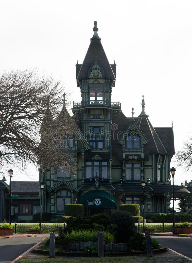 Carson Mansion Stock Image Image Of Grand Style