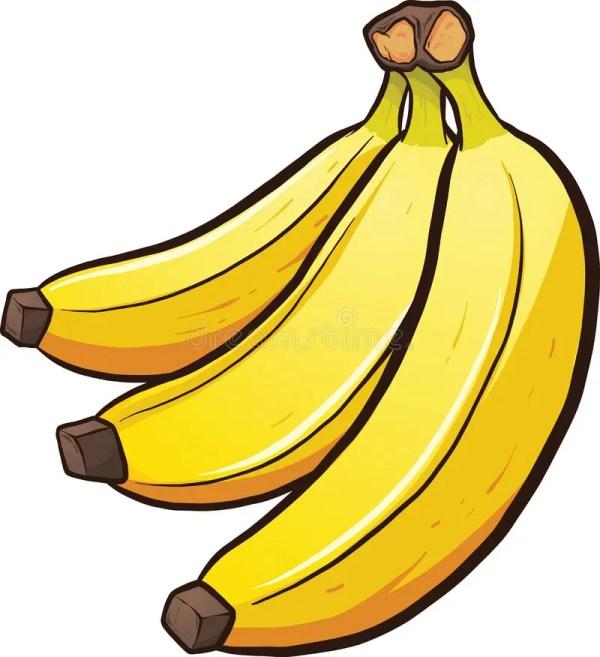 cartoon bananas stock vector. illustration