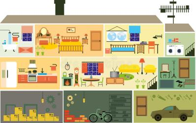 cartoon rooms interior fumetto della living famiglia casa beeldverhaalfamilie huis het furniture vector stanze mobilia interno camera illustrazione techniek bouw