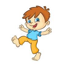 Image Happy Boy Cartoon Clip Art