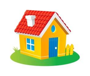 Cartoon house stock vector Illustration of draw home 16120661