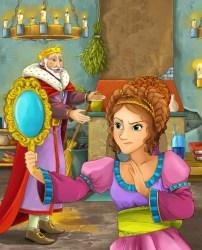 king kitchen illustration illustrations dreamstime vectors talking castle colorful scene happy cartoon classic