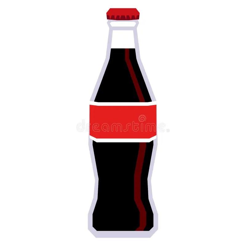 glass bottle of coca