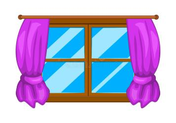 window curtains cartoon vector symbol icon illustration background clipart isolated illustrations drawn clipartmag dreamstime graphic vectors