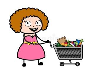 Cartoon Lady Shopping Stock Illustrations 7 086 Cartoon Lady Shopping Stock Illustrations Vectors & Clipart Dreamstime