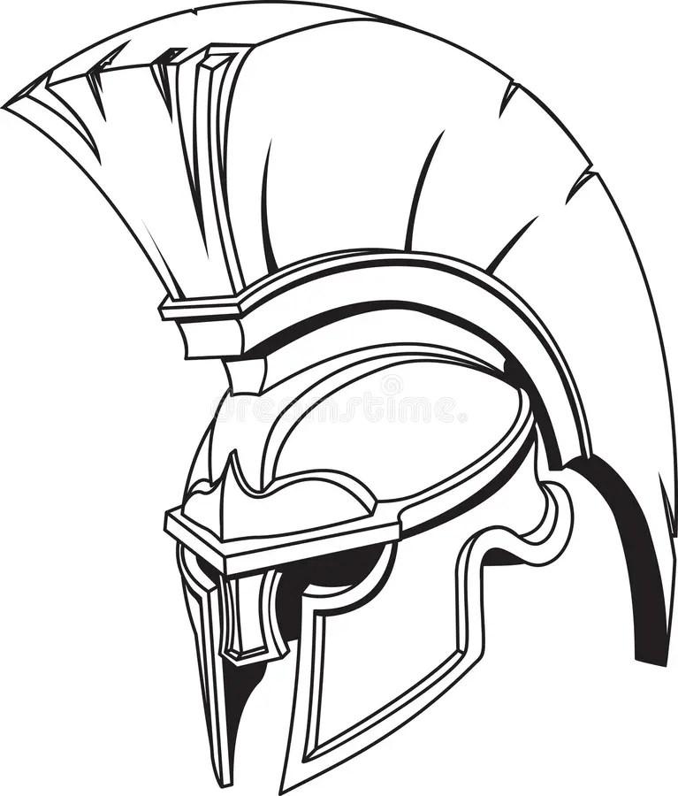 Casque Trojan Grec Romain Spartiate De Gladiateur
