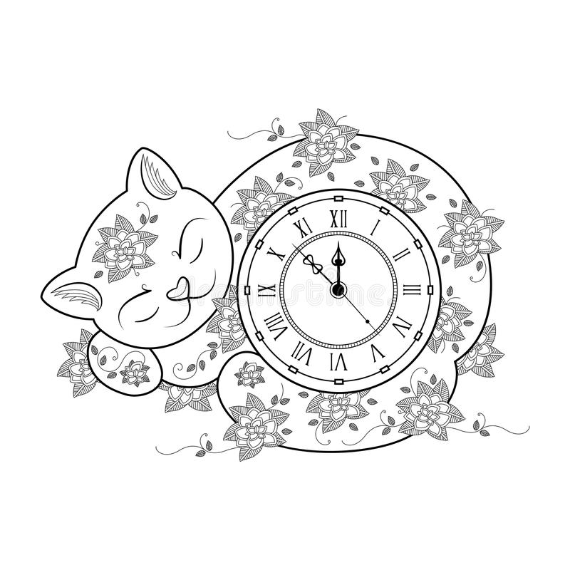 Grandfather Clock Pendulum Coloring Page Pages Sketch