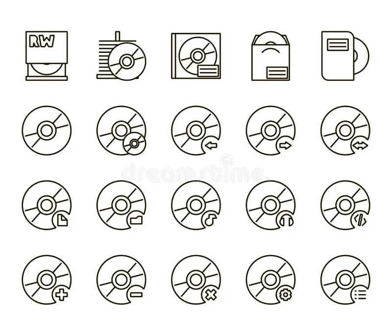Flat Black Speech Bubbles. Hand Drawn Icons Stock Vector