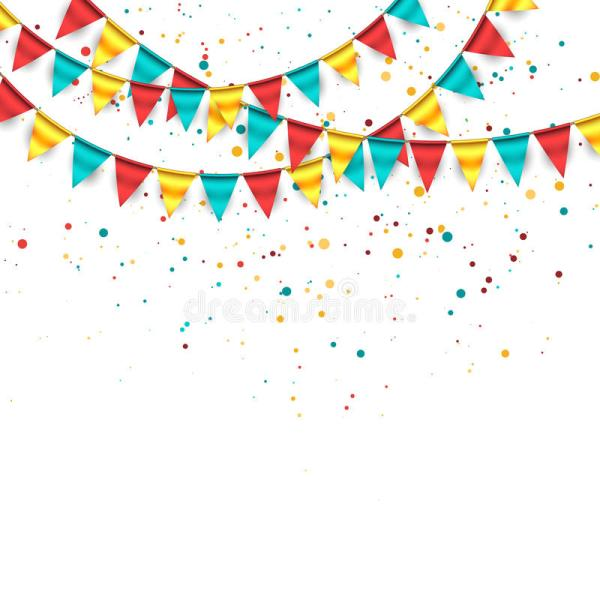 Celebration Background Stock Vector. Illustration Of