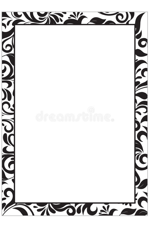 Certificate Template With Guilloche Elements. Stock Vector