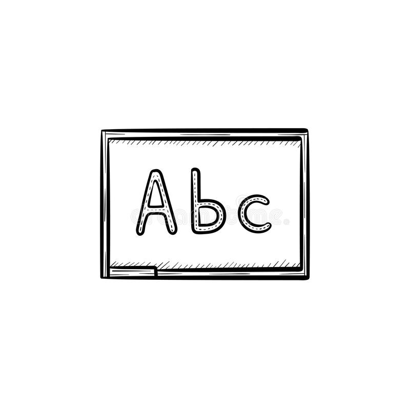 Abc Outline Stock Illustrations