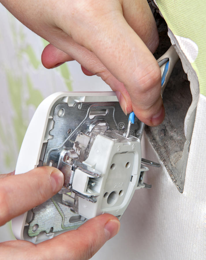 Attach Timer Switch Wires Attach The Electrical Wires To The