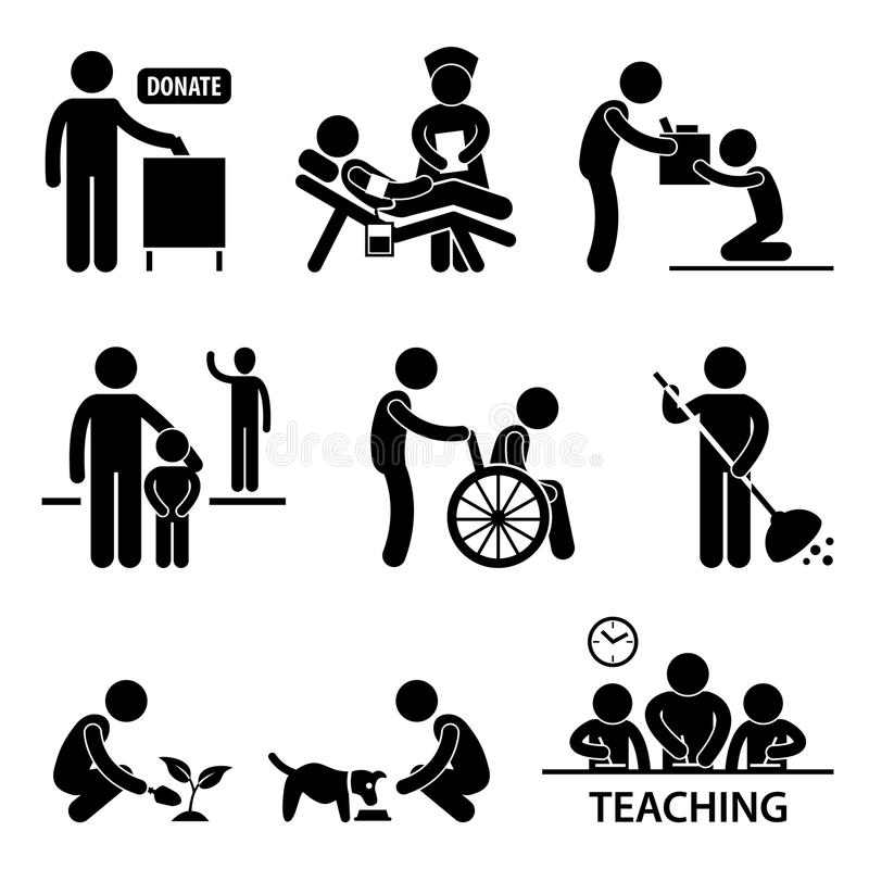 Amputee Handicap Disable People Man Pictogram Stock Vector