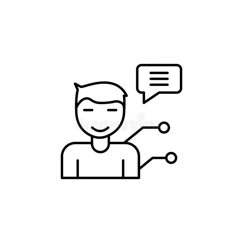 Internet Chatter Stock Illustrations
