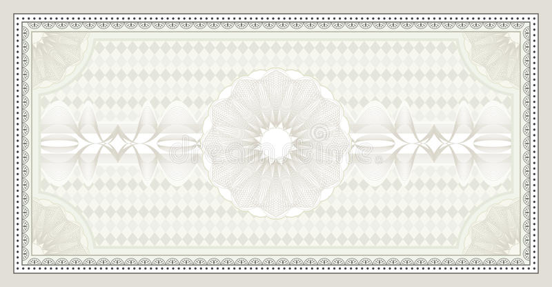 Certificate background stock vector. Illustration of blank