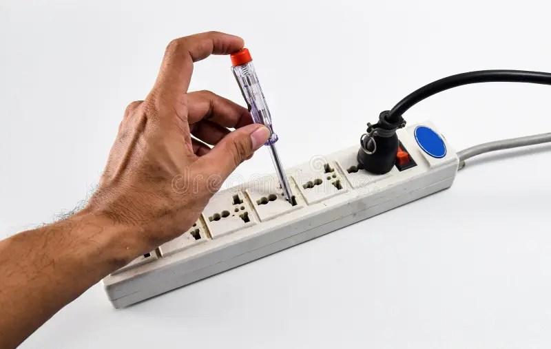 Testing Electronic Circuit Royalty Free Stock Photos Image 22506948